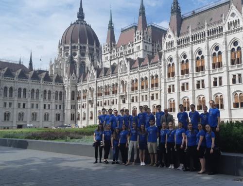 A Nemzeti Ifjúsági Kórus is képviseltette magát a Nemzeti Összetartozás Napján